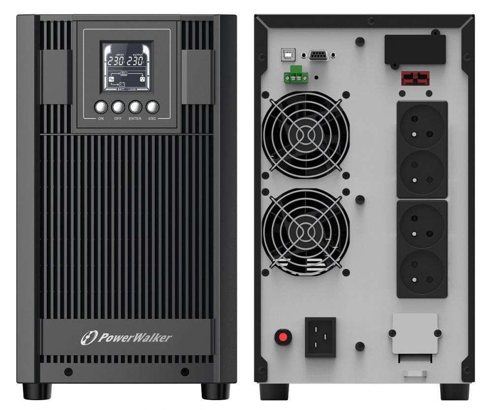 Zasilacz UPS awaryjny 3kVA/2700W VFI 3000 AT FR PowerWalker