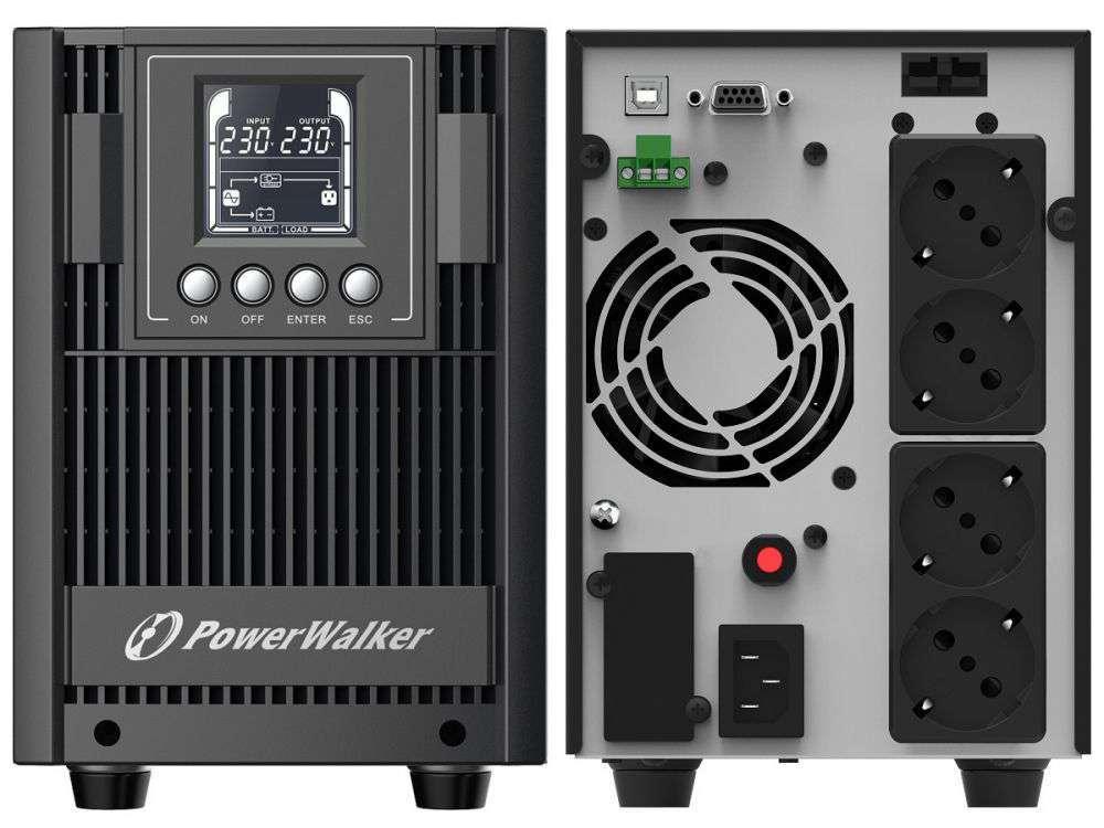 Zasilacz UPS awaryjny 2kVA/1800W VFI 2000 AT PowerWalker