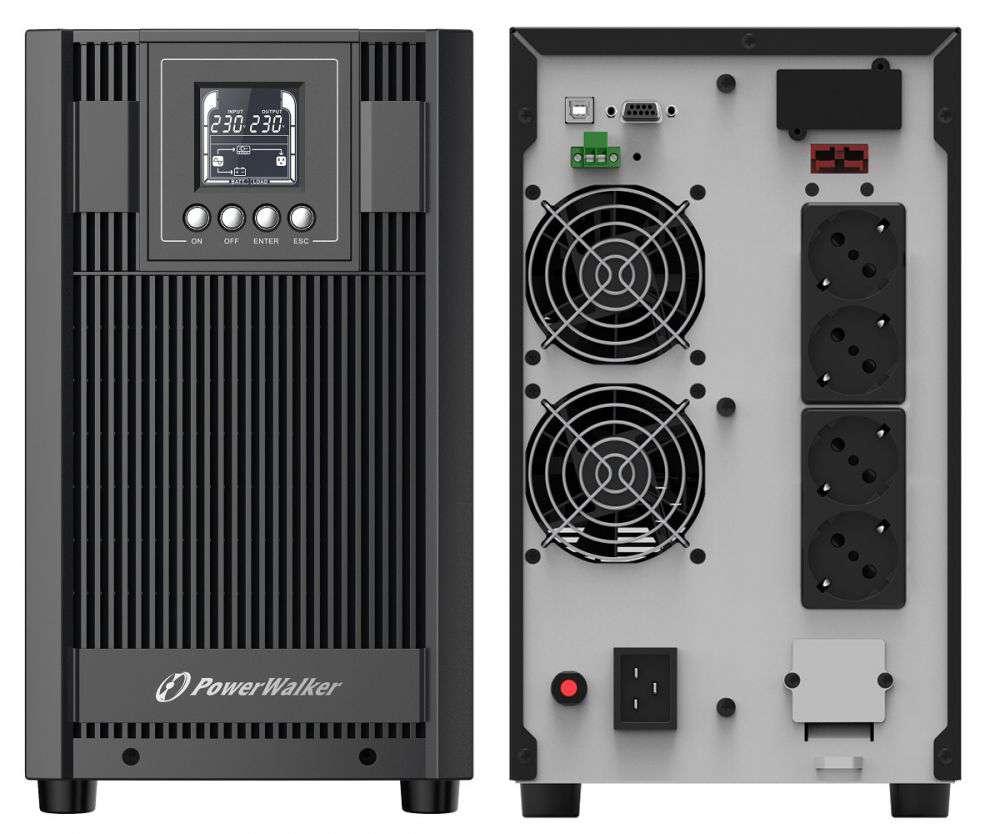 Zasilacz UPS awaryjny 3kVA/2700W VFI 3000 AT PowerWalker