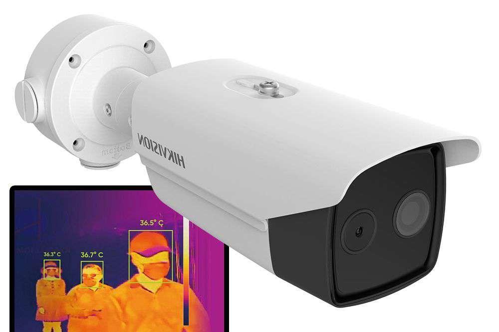 Kamera do pomiaru temperatury ludzkiego ciała DS-2TD2617B-6/PA(B) Hikvision