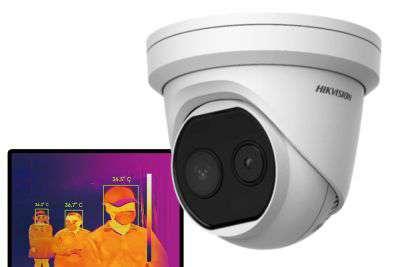 DS-2TD1217B-3/PA (B) - Kamera termograficzna, 3mm, 160x120, pomiar temp. - Hikvision