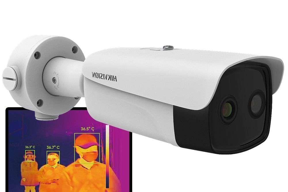 Kamera do pomiaru temperatury ludzkiego ciała DS-2TD2637B-10/P (B) Hikvision