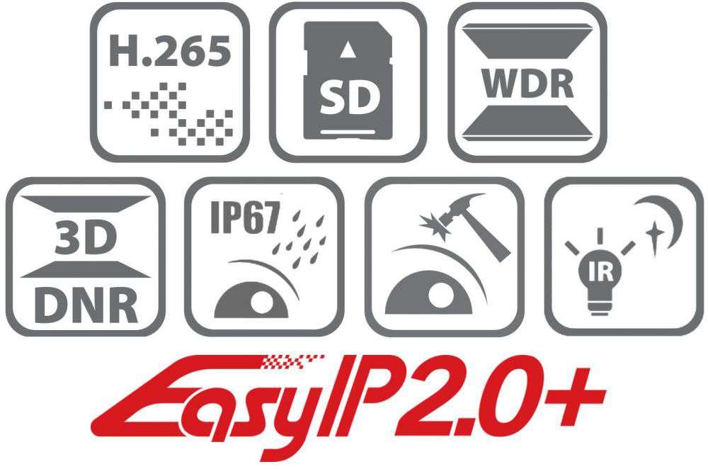 Kamera do LIVE streamingu IP DS-2CD2163G0-IS HikVision (6MPX)