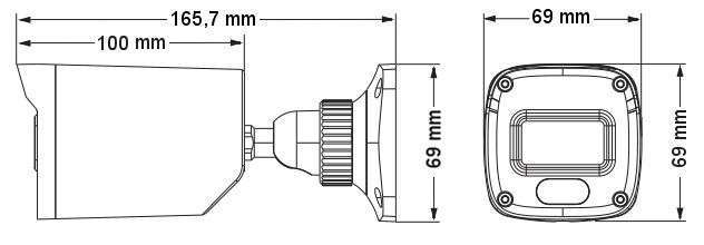 wymiary kamer ipox PX-TI2028IR2