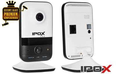 4x Kamera WiFi kopułowa CUBE (2MPX)