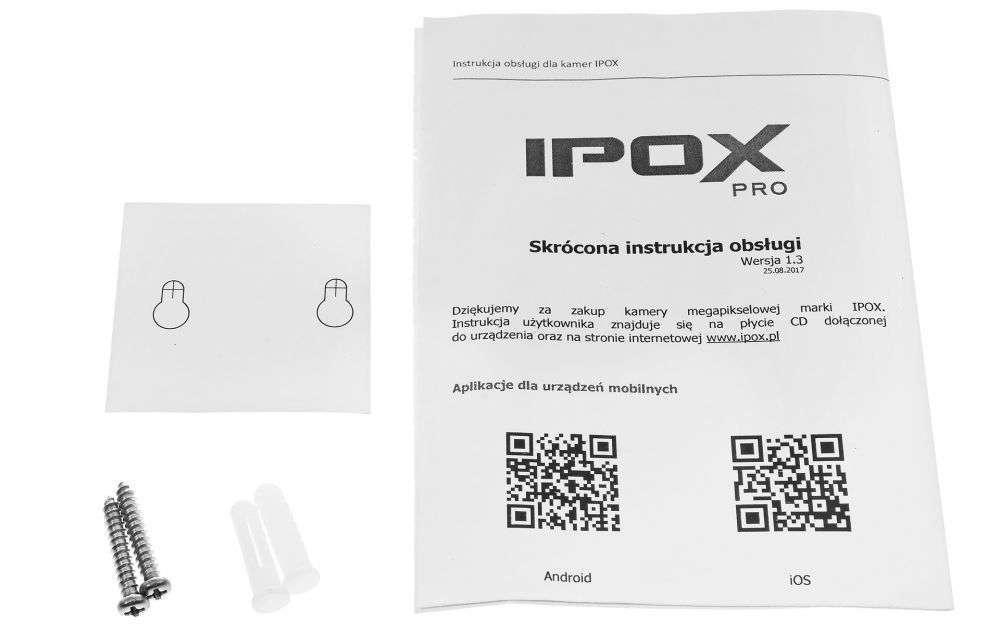 zawartość opakowania ipox px-ci2028amw ipox