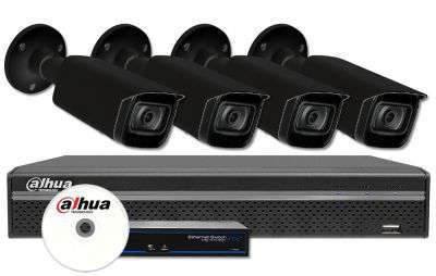 Zestaw do monitoringu IP ZMIP-DAH4KB20B/IR80 (2MPX) DAHUA