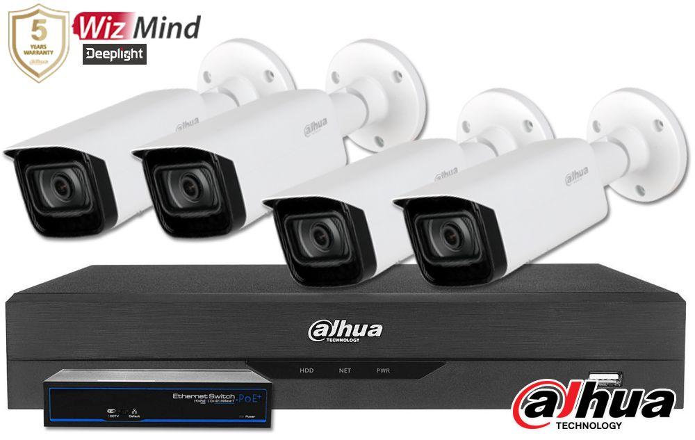 Zestaw do monitoringu IP ZMIP-DAH4KB40/MIC (4MPX) DAHUA
