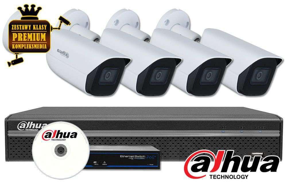 Zestaw do monitoringu IP ZMIP-DAH4KB20/MIC (2MPX) DAHUA