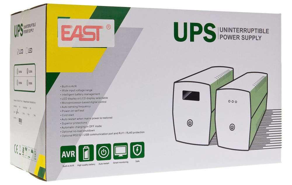 standardowe wyposażenie ups east