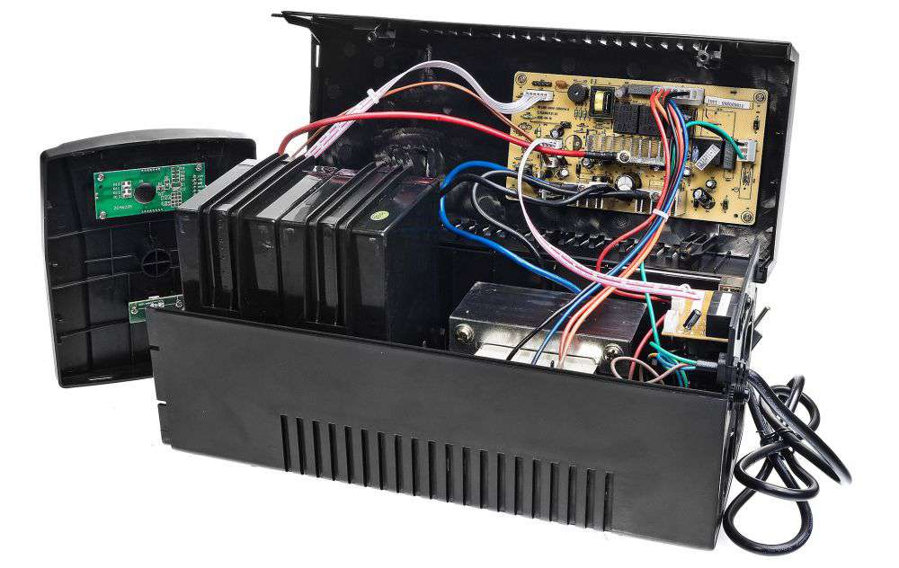 UPS1200-T-LI/LCD EAST GŁOŚNOŚĆ URZĄDZENIA 45db