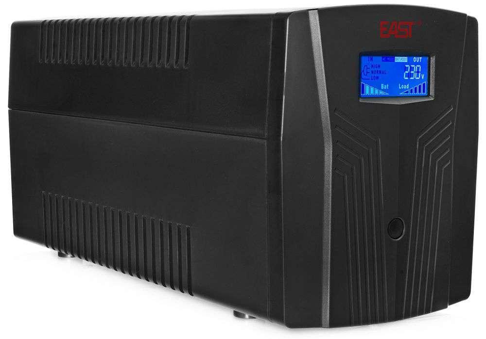 Zasilacz awaryjny UPS 1500VA/900W UPS1500-T-LI/LCD EAST