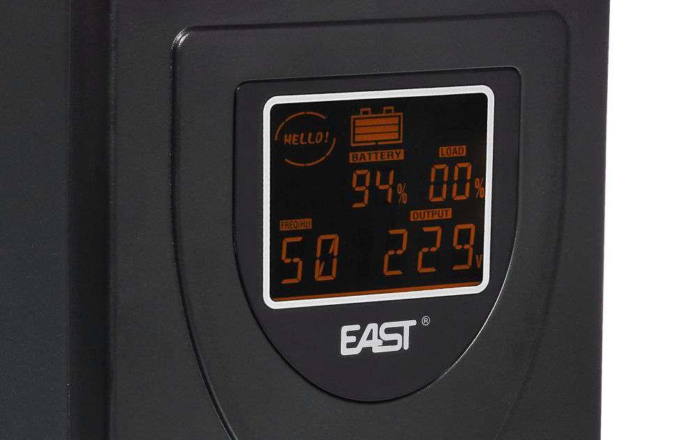 UPS2000-T-LI/LCD EAST STABILIZATOR NAPIĘCIA AVR