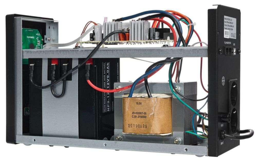 UPS2000-T-LI/LCD EAST GŁOŚNOŚĆ URZĄDZENIA 45db