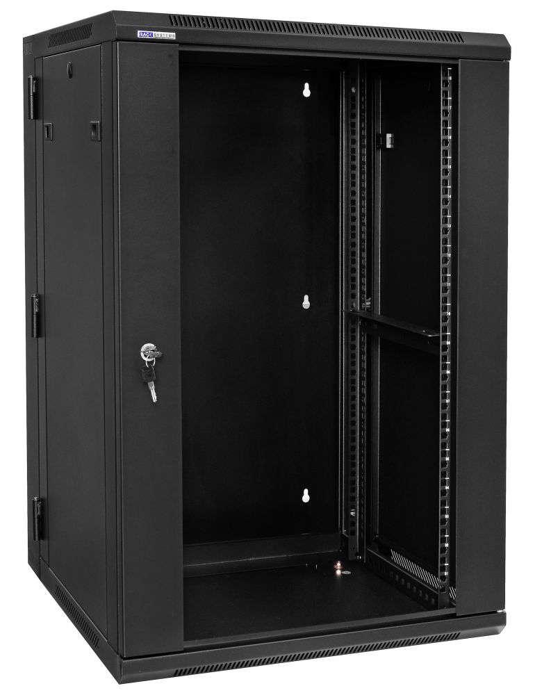 """Szafa Rack 19"""" 18U / 600 Rack Systems D6618 wisząca dwusekcyjna"""