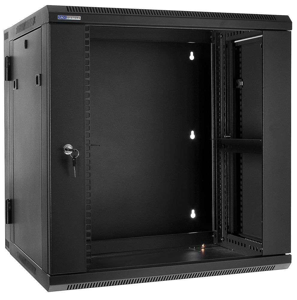 """Szafa Rack 19"""" 15U / 600 Rack Systems D6615 wisząca dwusekcyjna"""