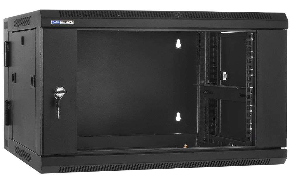 """Szafa Rack 19"""" 6U / 600 Rack Systems D6606 wisząca dwusekcyjna"""