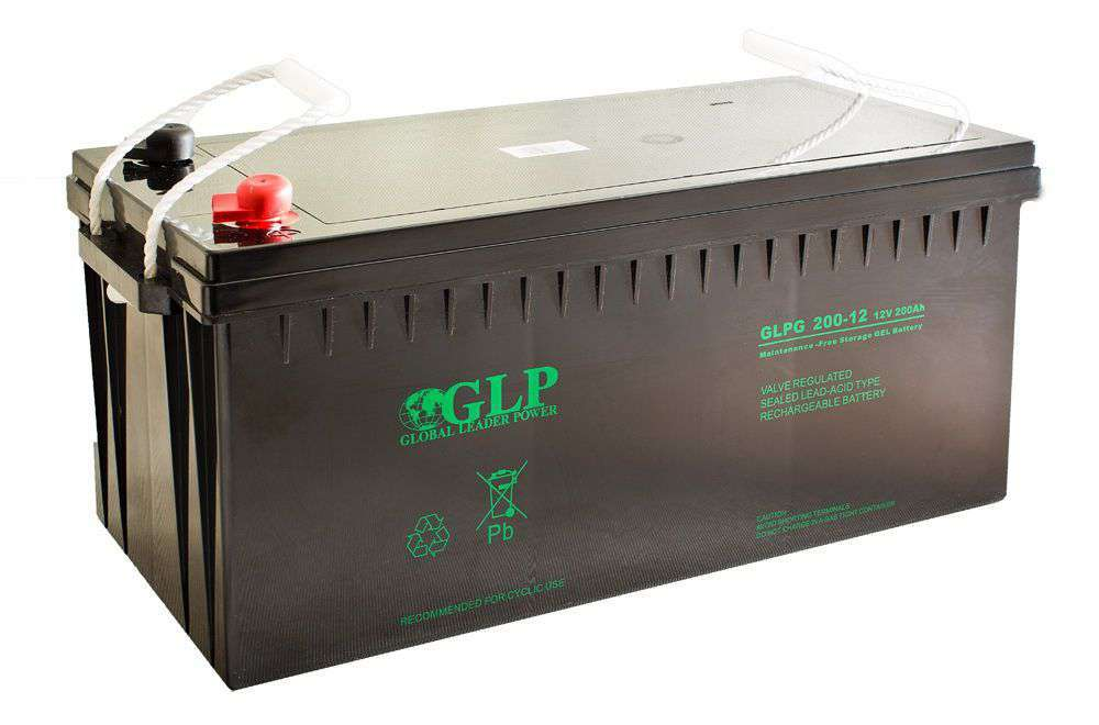 Akumulator żelowy 12V/200Ah GLPG 200-12 GLP