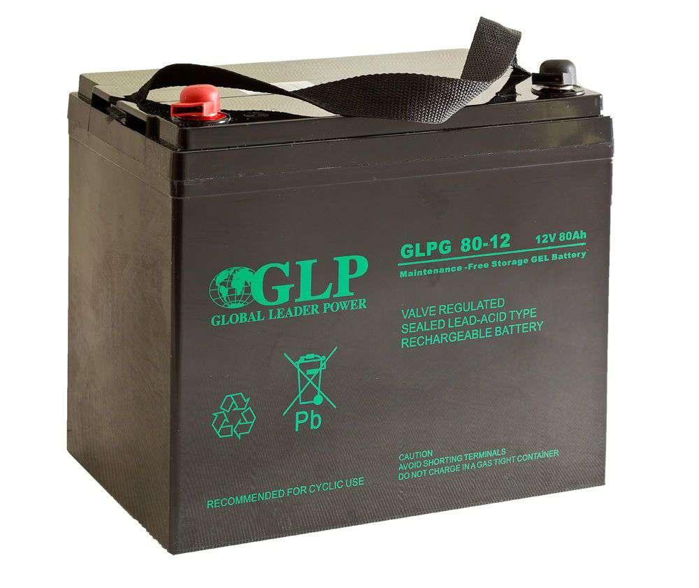 Akumulator żelowy 12V/80Ah GLPG 80-12 GLP