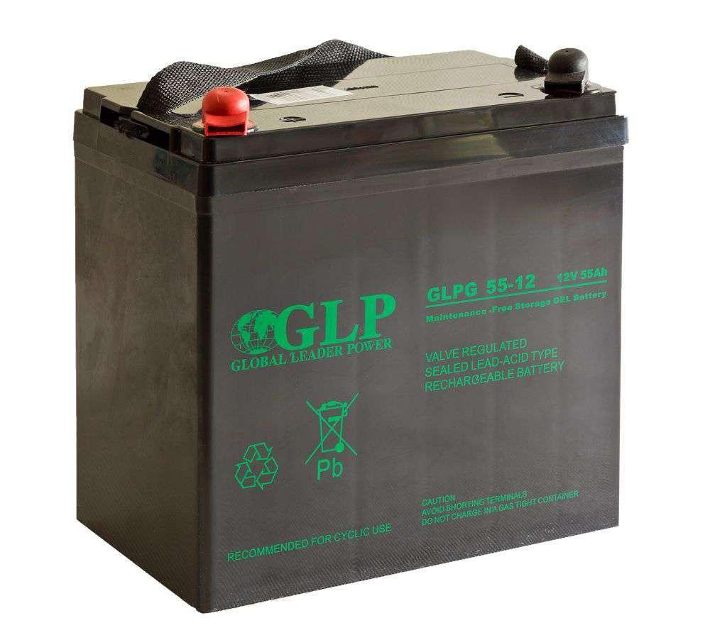 Akumulator żelowy 12V/55Ah GLPG 55-12 GLP