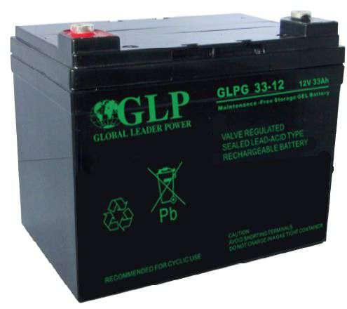 Akumulator żelowy 12V/33Ah GLPG 33-12 GLP