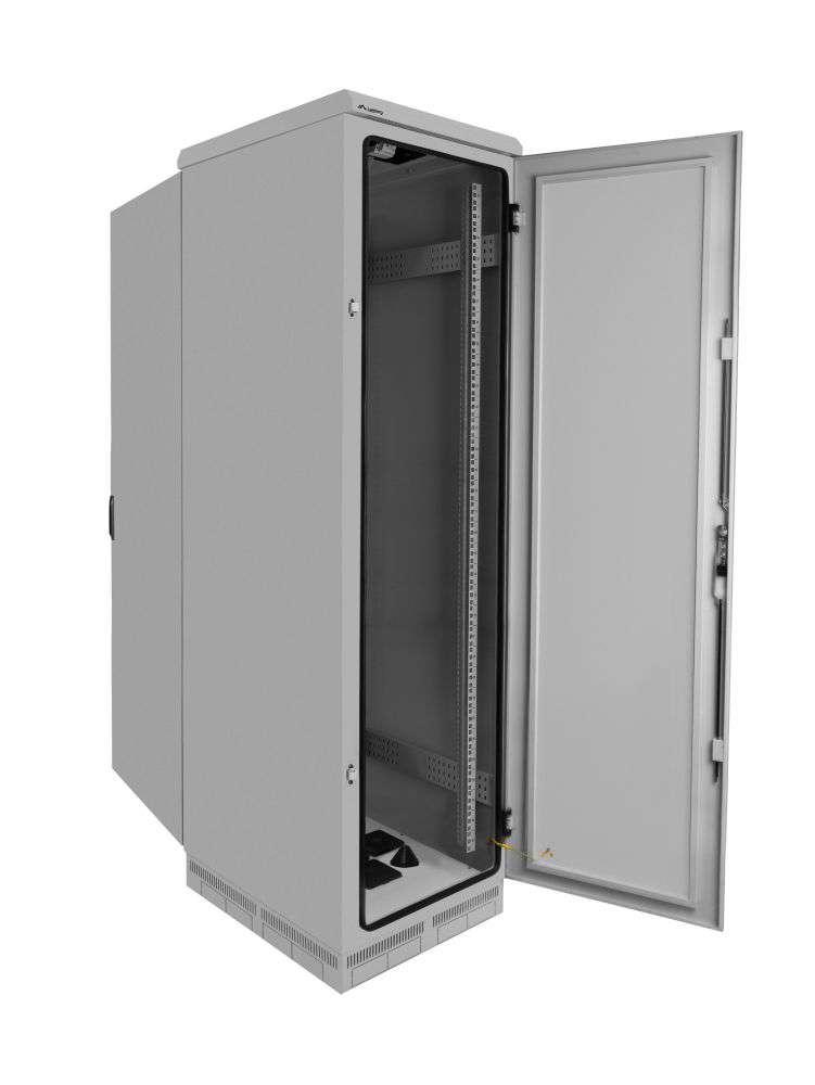 budowa szafy rack 19 FF55-6837-22S marki Lanberg