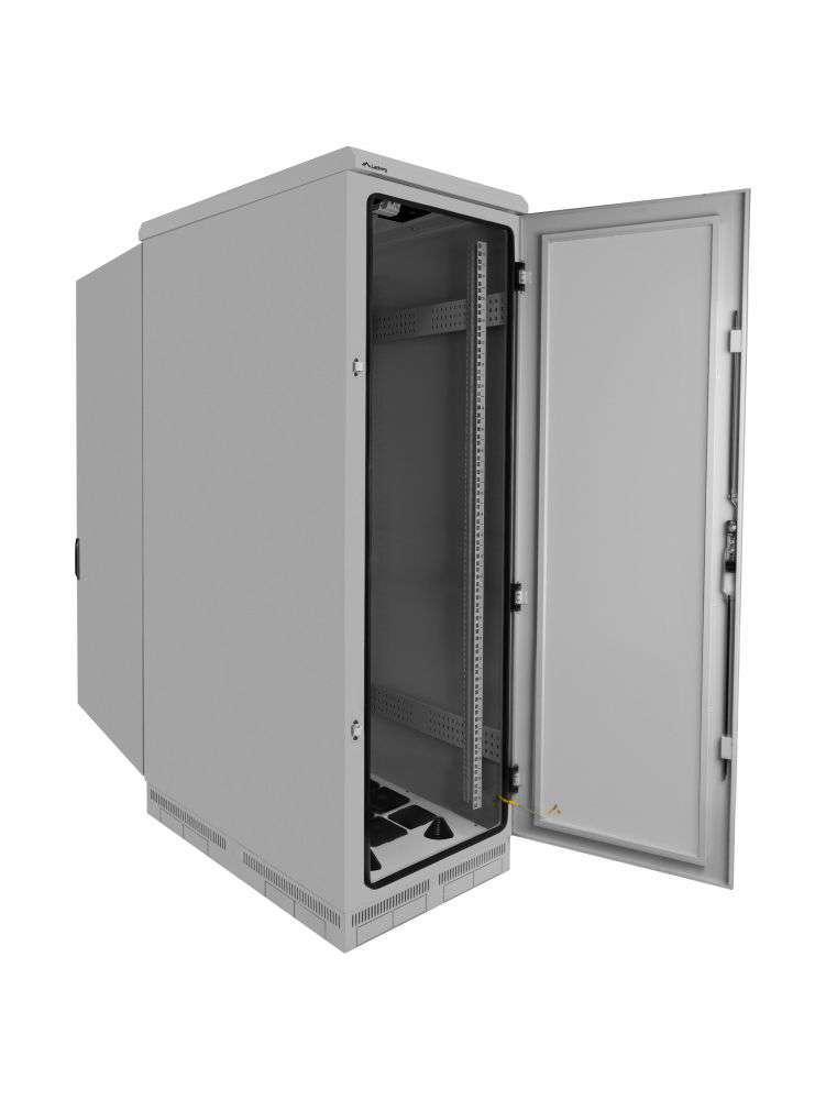 budowa szafy rack 19 FF55-6027-22S marki Lanberg
