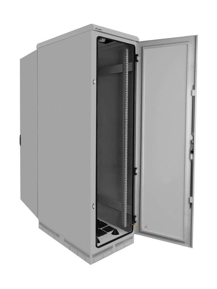 budowa szafy rack 19 FF55-6037-22S marki Lanberg