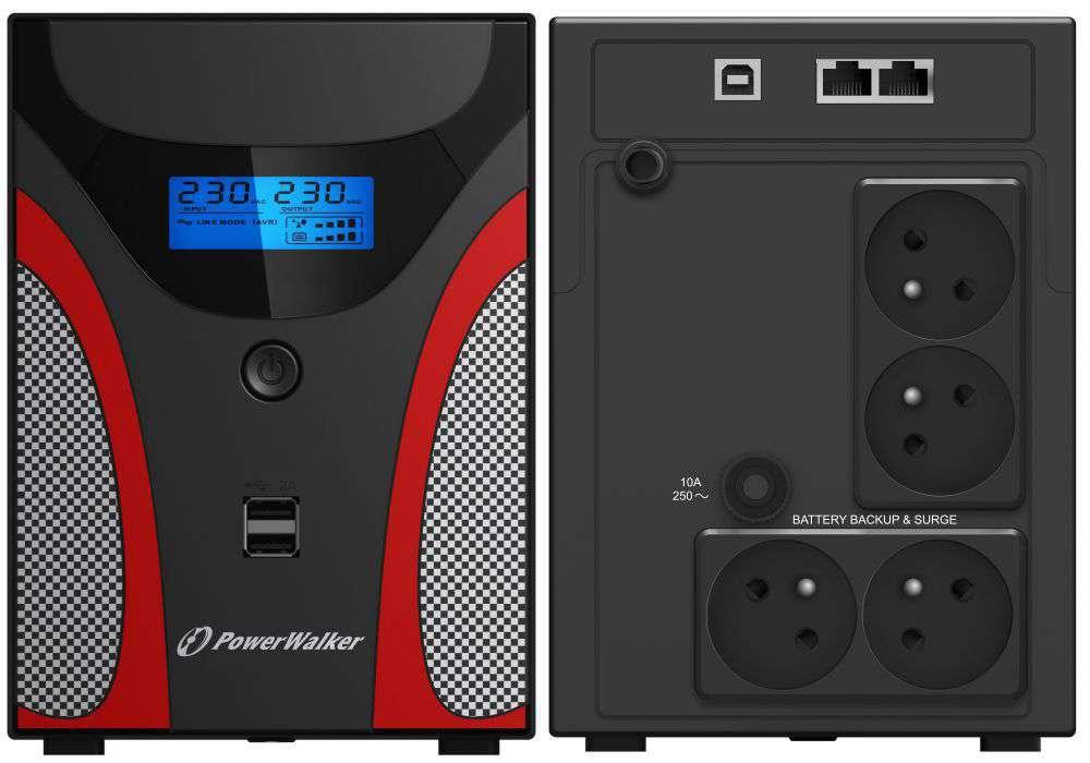 Zasilacz UPS awaryjny 1200VA/720W VI 1200 GX FR PowerWalker