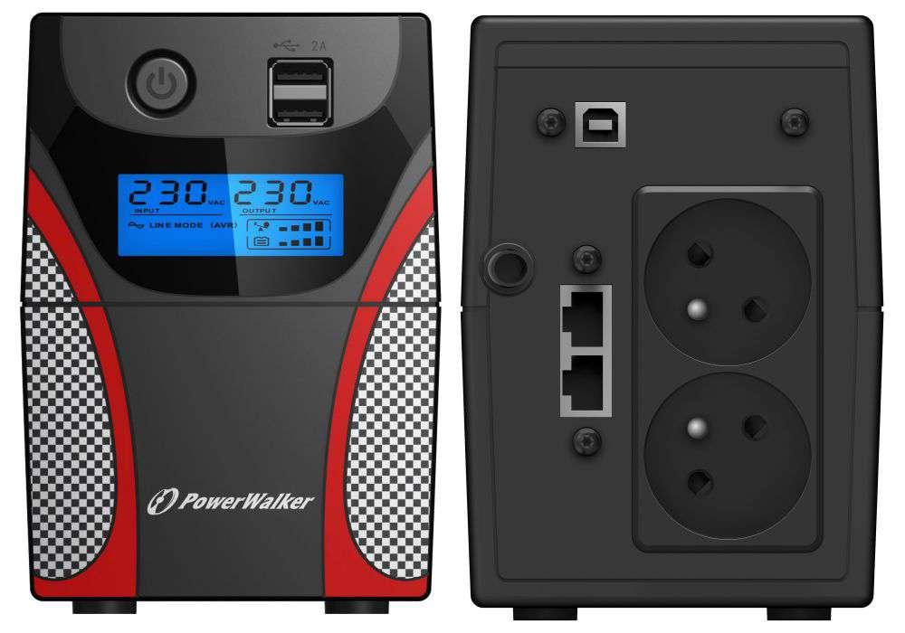 Zasilacz UPS awaryjny 650VA/360W VI 650 GX FR PowerWalker