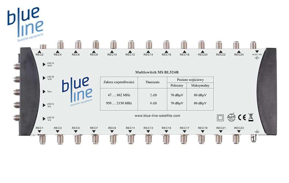 Blue Line MS BL524B