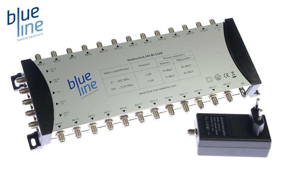 Multiswitch Blue Line MSBL524B