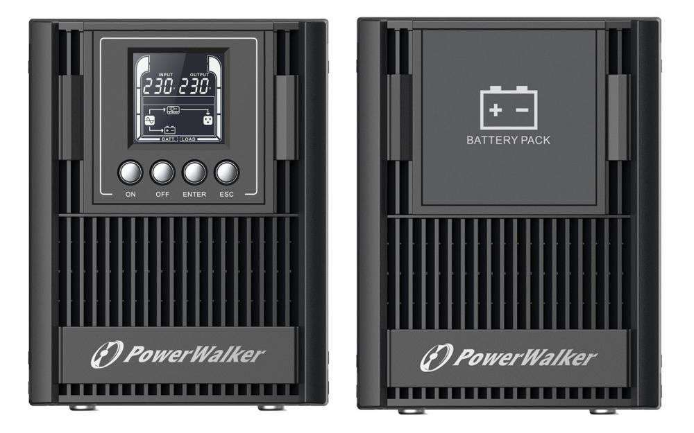 2w1 Zestaw zasilania awaryjnego UPS VFI 1000 AT FR + BP AT24T-4x9Ah (10134046)