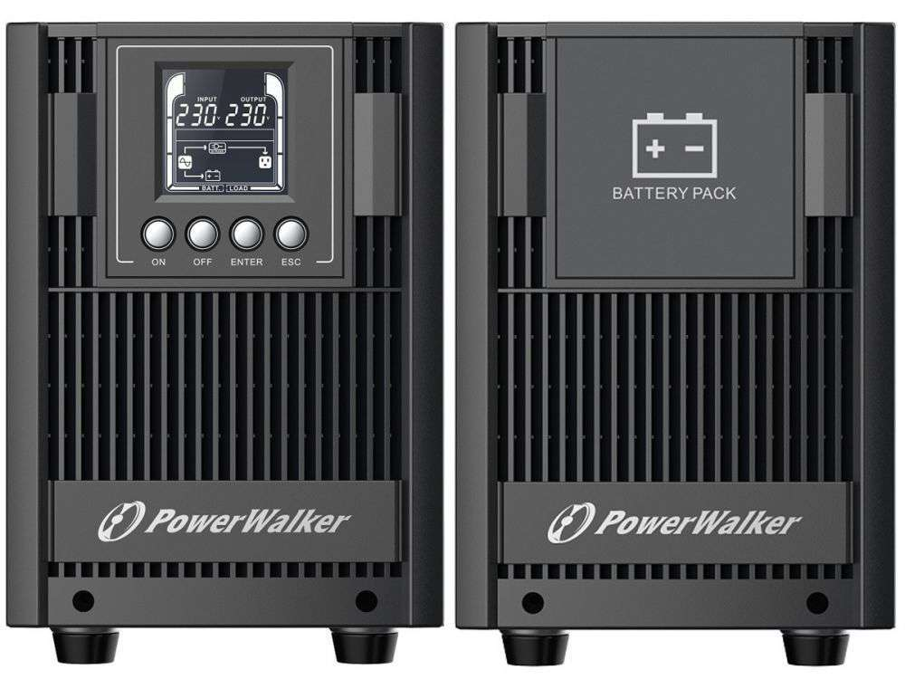 2w1 Zestaw zasilania awaryjnego UPS VFI 2000 AT FR + BP AT48T-8x9Ah (10134047)