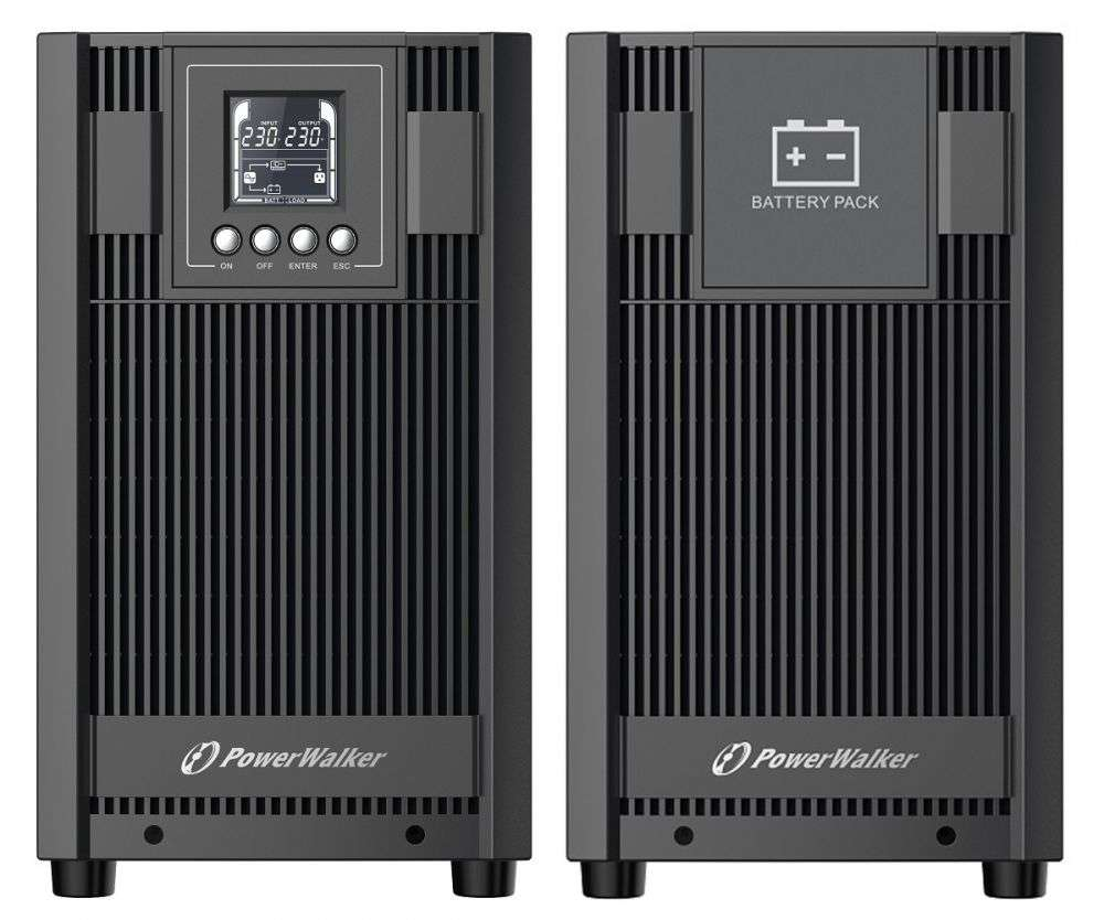 2w1 Zestaw zasilania awaryjnego UPS VFI 3000 AT FR + BP AT72T-12x9Ah (10134048)