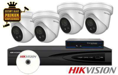 ZMIP-HIK4KD40/DF Zestaw do monitoringu IP (4MPX) HikVision