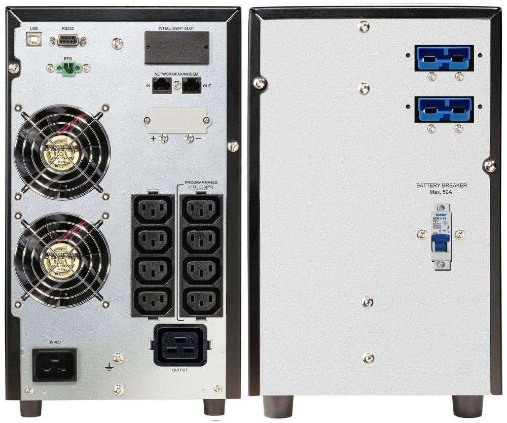 2w1 Zestaw zasilania awaryjnego UPS VFI 3000 CG PF1 + BP A72T-12x9Ah (10120575)