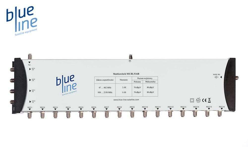 Blue Line MS BL516B