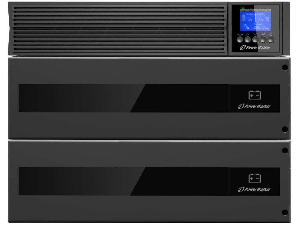 2w1 Zestaw zasilania awaryjnego UPS VFI 10000 RTG PF1 + BP SA192R-16x9Ah (10134036)