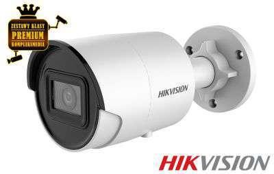 4x Kamera IP tubowa AcuSense (8MPX)