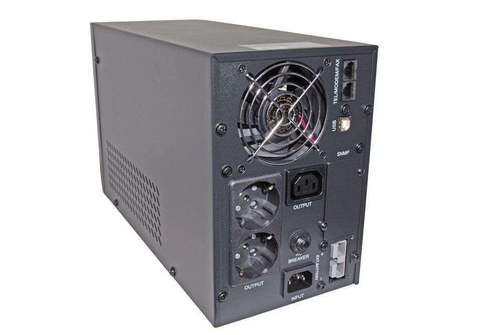 TS1-LI-1K0-MC-BC24 IPS wolnostojący zasilacz UPS tower