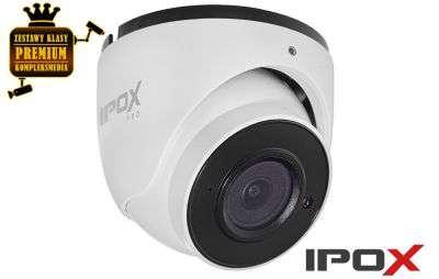 4x Kamera inteligentna IPTURRET (4MPX)
