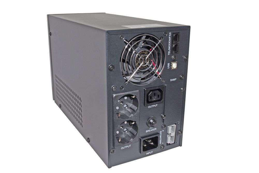 TS1-LI-2K0-MC-BC48 IPS wolnostojący zasilacz UPS tower