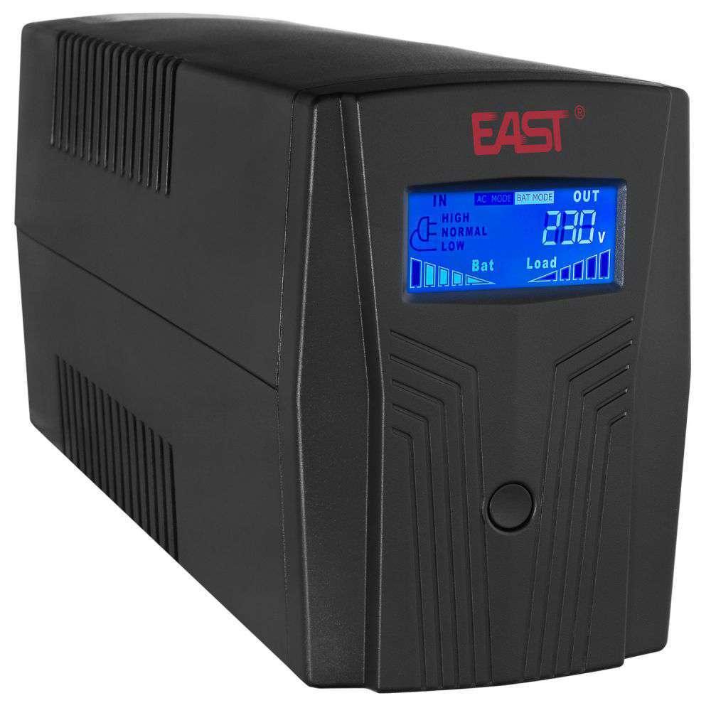 Zasilacz awaryjny UPS 650VA/390W UPS650-T-LI/LCD EAST