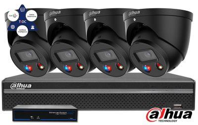 Zestaw monitoringu DAHUA IP Full Color 2MPX WizSense SMD+ TiOC Bullet
