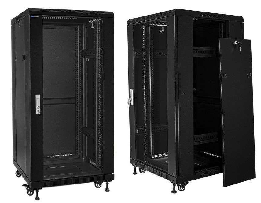 """Szafa Rack 19"""" 24U 800x800 Rack Systems S8824 - serwerowa"""