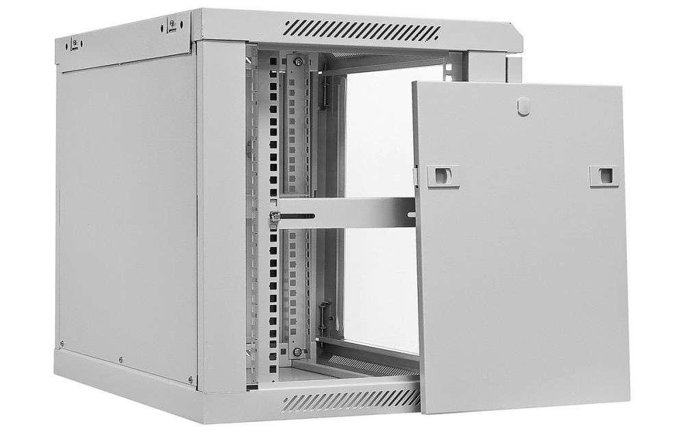 """Szafa Rack 19"""" 9U / 450 Rack Systems W6409W wisząca szara"""