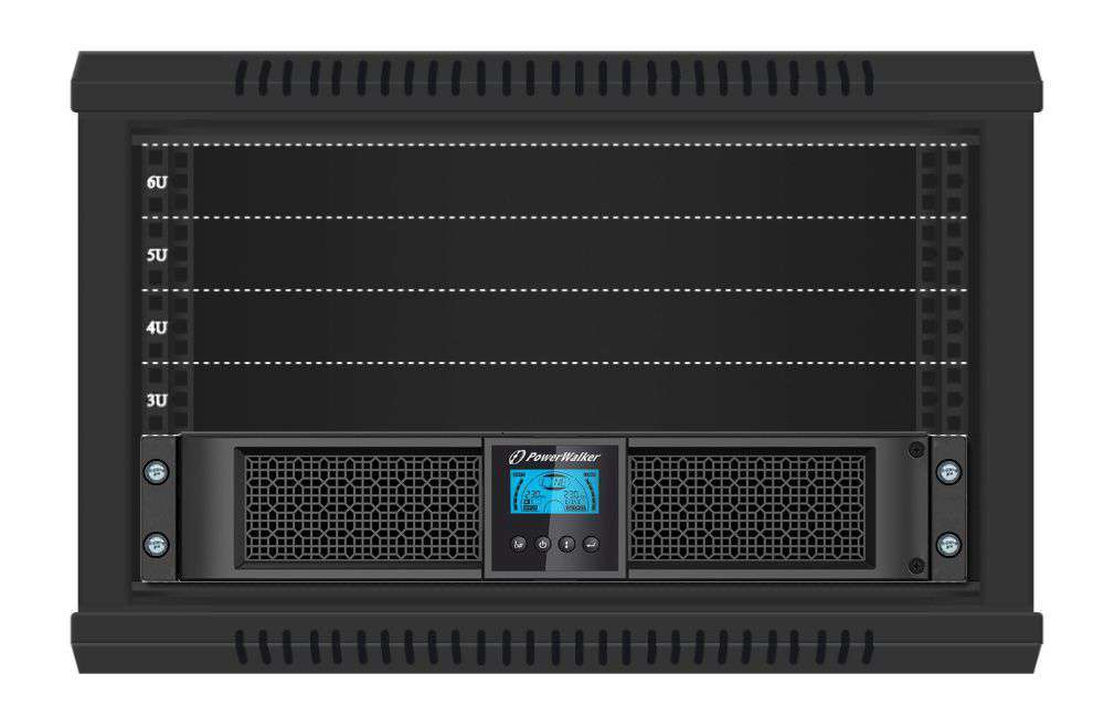 VFI 3000 RT HID PowerWalker montaż RACK
