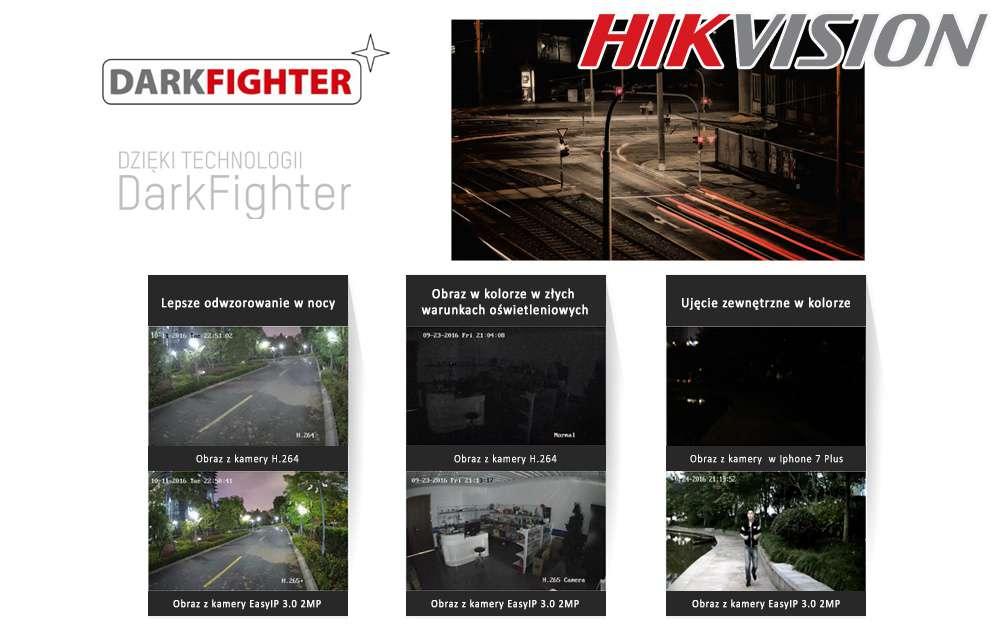 monitoring w nocy nocny darkfighter hikvision