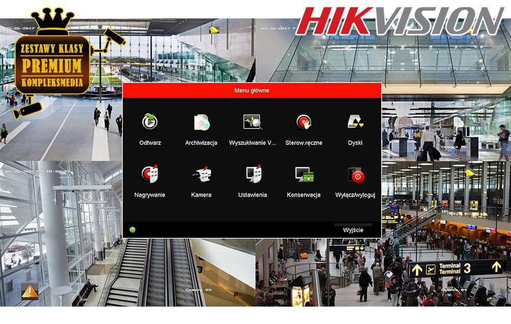 nowoczesne oprogramowanie hikvision pl easy ip menu